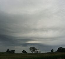 Nebraska Sky by Lucy Albert