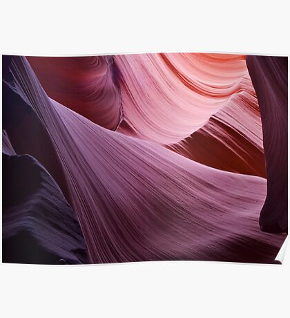 The Veil, Lower Antelope Canyon Poster