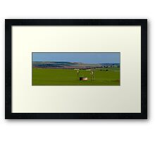 Northampton Farmlands 2 Framed Print