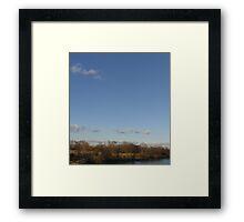 I-895, Curtis Bay, Baltimore  Framed Print