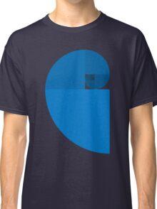 Golden Ratio Spiral - Blue Sections Classic T-Shirt