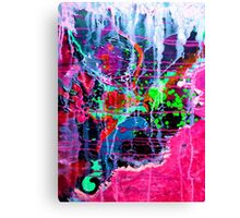 BRIGHT ABSTRACT SLAP!!!! Canvas Print
