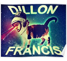 Dillon Francis Space Cat Poster