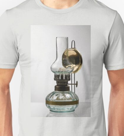 retro style glass decorative oil lamp Unisex T-Shirt