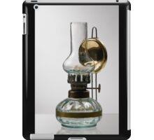 retro style glass decorative oil lamp iPad Case/Skin