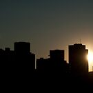 Sunset City - Edmonton, AB Canada by camfischer
