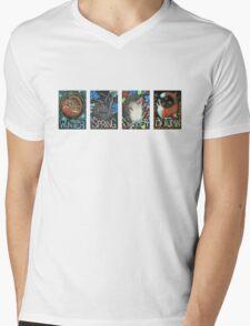 Seasons Mens V-Neck T-Shirt