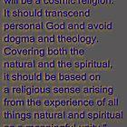 Einstein's Future Religion... by TeaseTees