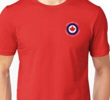 Royal Canadian Air Force Roundel Shield Unisex T-Shirt