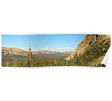 Uintah Mountains, Mirror Lake Highway Poster