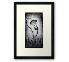The Decay of Winter Framed Print