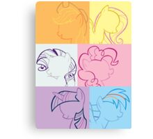 6 Main_squares 1 poster/card/print Canvas Print