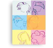 6 Main_squares 2 poster/card/print Canvas Print
