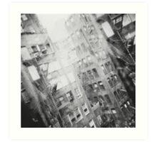 New York Double Exposure Art Print