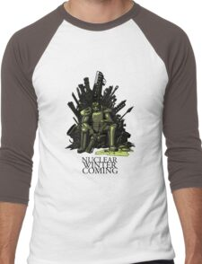Nuclear winter is coming Men's Baseball ¾ T-Shirt