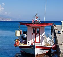 The Island of Crete. by John (Mike)  Dobson
