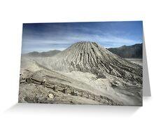 View from Bromo Mountain (Gunung Bromo) Greeting Card
