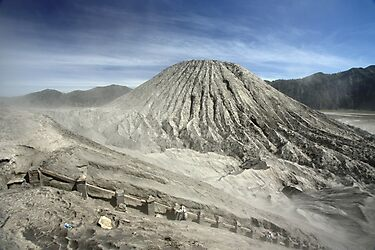View from Bromo Mountain (Gunung Bromo) by Tim Coleman