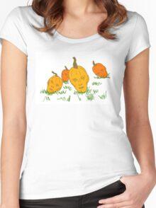 Benedict Pumpkinpatch Women's Fitted Scoop T-Shirt