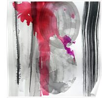 ABSTRACT INK 3 Poster