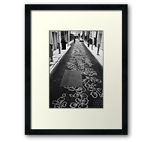 Burnett Lane - Brisbane Framed Print