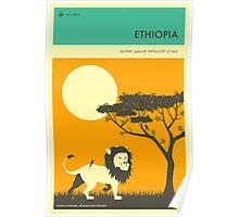 VISIT ETHIOPIA Poster