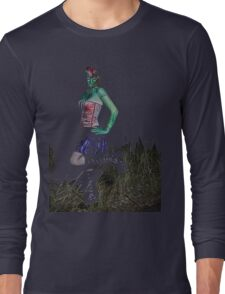 Frankenstein Pin up tee Long Sleeve T-Shirt