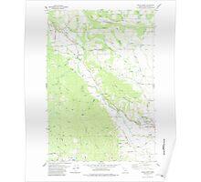 USGS Topo Map Oregon Gales Creek 279979 1979 24000 Poster
