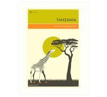 VISIT TANZANIA Art Print