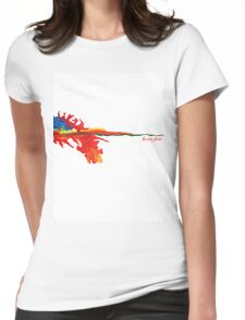 fire born free Womens Fitted T-Shirt