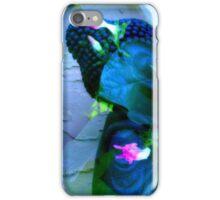 Meditation in Blue iPhone Case/Skin