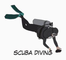 scuba diving Kids Tee