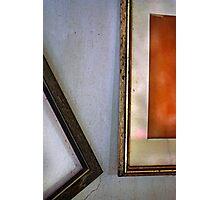 Forgotten frames. Photographic Print