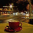 Latte on O'Connell by Barb Leopold