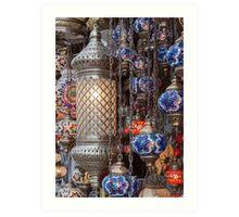 Turkish Lanterns Art Print