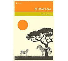 VISIT BOTSWANA Photographic Print