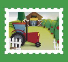 Hippo Hoppo - the farm Kids Tee