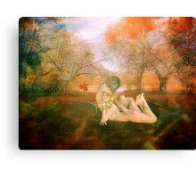 Beauty & the Beast Canvas Print