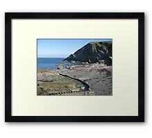 Ilfracombe, UK Framed Print