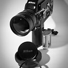 Nikon R10 super 8mm cine camera circa 1971 by harper white
