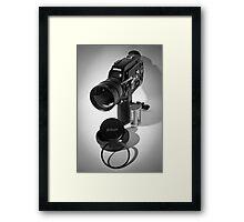 Nikon R10 super 8mm cine camera circa 1971 Framed Print