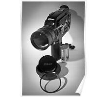 Nikon R10 super 8mm cine camera circa 1971 Poster