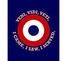 French Air Force VVV Roundel Photographic Print