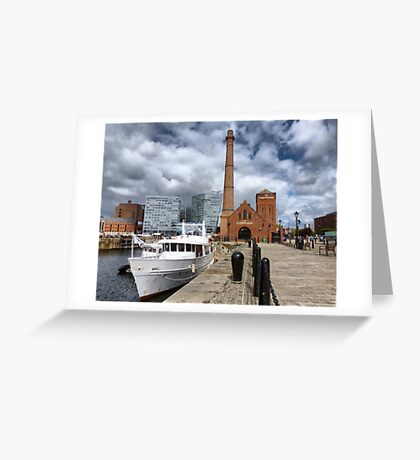 The Pump House. Greeting Card