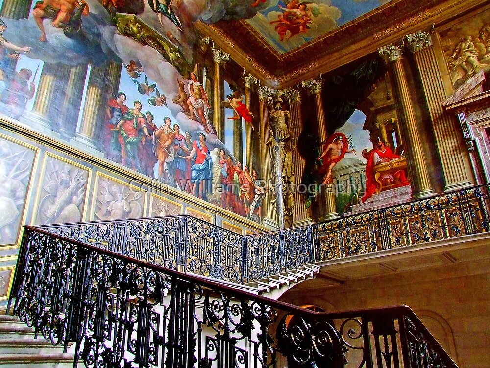 Staircase Hampton Court - HDR by Colin  Williams Photography