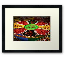 ancient rites. melbourne, australia Framed Print