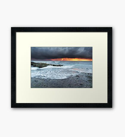 Angourie, New South Wales, Australia Framed Print