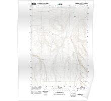 USGS Topo Map Oregon Strawberry Canyon NE 20110903 TM Poster