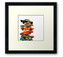 Cars 1 Framed Print