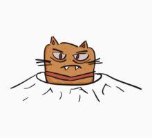Grumpy Tunnel Cat Kids Tee